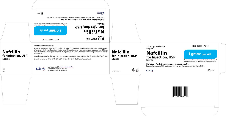 Nafcillin 1 g Carton