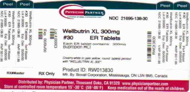 Wellbutrin XL 300mg