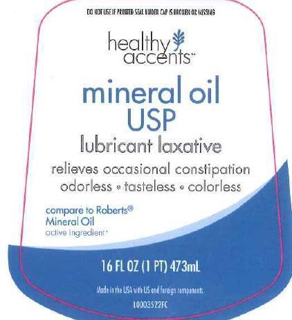 Mineral Oil Liquid [Dza Brands Llc]