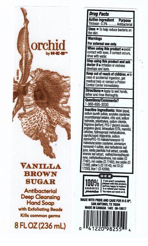 Orchid By H E B Vanilla Brown Sugar (Ethyl Alcohol) Liquid [H E B]